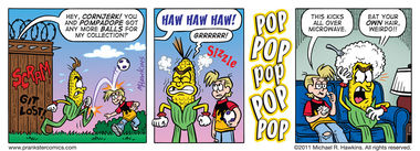 Move Over, Orville - an Amaizing Jim Corn comic from Prankster Comics