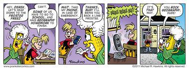 Pop Quiz? - an Amaizing Jim Corn comic from Prankster Comics