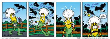 The Birds 2 - an Amaizing Jim Corn comic from Prankster Comics