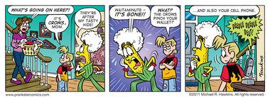 Bird Call - an Amaizing Jim Corn comic from Prankster Comics