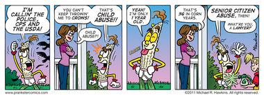 Big Baby - an Amaizing Jim Corn comic from Prankster Comics