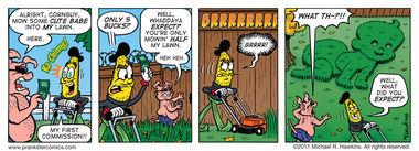 A Crappy Job - an Amaizing Jim Corn comic from Prankster Comics