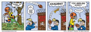 Pass Interjection - an Amaizing Jim Corn comic from Prankster Comics